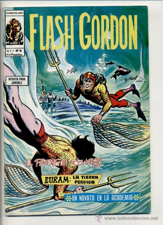 FLASH GORDON V1 Nº35 (Tebeos y Comics - Vértice - Flash Gordon)