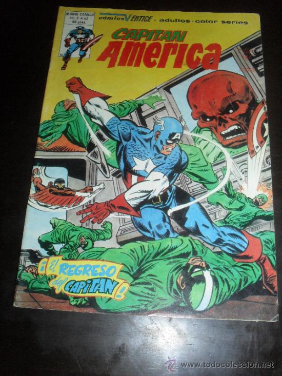 CAPITAN AMERICA Nº 43. VOL. 3. MUNDI COMICS. VERTICE. (Tebeos y Comics - Vértice - Capitán América)