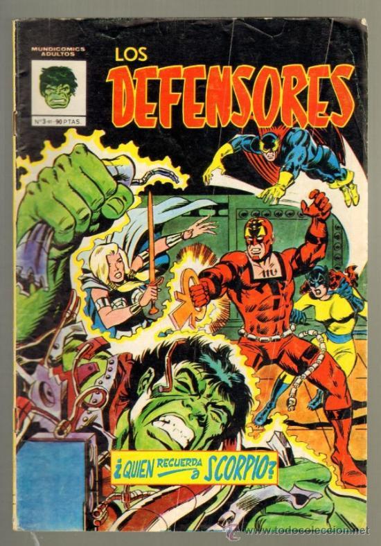 TEBEOS-COMICS GOYO - DEFENSORES Nº 3 - MUNDICOMICS *DD99 (Tebeos y Comics - Vértice - Otros)