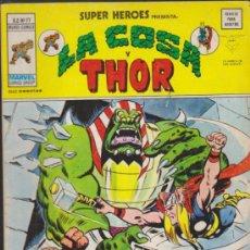 Cómics: SUPER HÉROES V.2 Nº 77. LA COSA Y THOR . VÉRTICE.. Lote 32087950