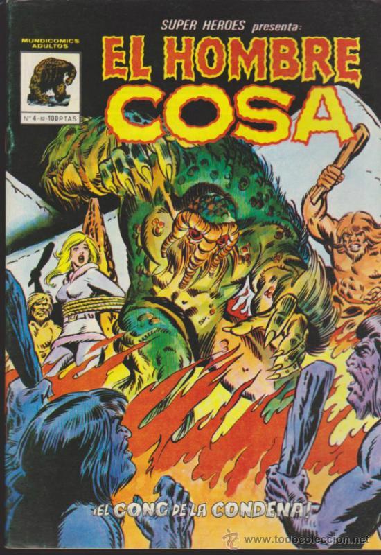 SUPER HÉROES Nº 4. EL HOMBRE COSA . VÉRTICE. (Tebeos y Comics - Vértice - Super Héroes)