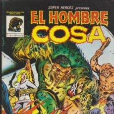 Cómics: SUPER HÉROES Nº 4. EL HOMBRE COSA . VÉRTICE.. Lote 32092118