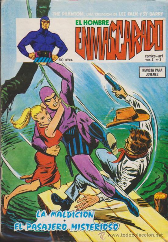 EL HOMBRE ENMASCARADO V.2 Nº 3. VÉRTICE. (Tebeos y Comics - Vértice - Hombre Enmascarado)