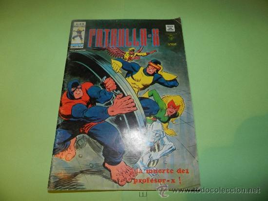 (M-15) PATRULLA X , V. 3 NUM 19 , EDC VERTICE1976 , SEÑALES DE USO (Tebeos y Comics - Vértice - Patrulla X)