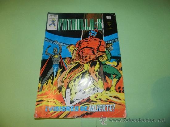 (M-15) PATRULLA X , V. 3 NUM 30 , EDC VERTICE1979 , SEÑALES DE USO (Tebeos y Comics - Vértice - Patrulla X)