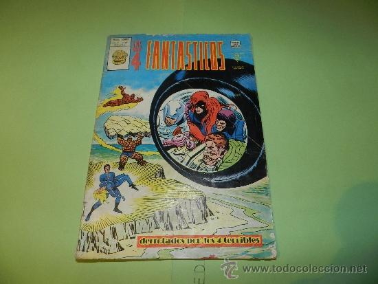 (M-15) LOS 4 FANTASTICOS VOL 3 NUM 21 - EDC VERTICE 1977 - PEQUEÑAS ROTURITAS (Tebeos y Comics - Vértice - 4 Fantásticos)