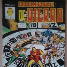 Cómics: HOMBRE DE HIERRO Nº 4. Lote 32120227