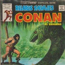 Cómics: RELATOS SALVAJES V.1 Nº 63. CONAN. VÉRTICE.. Lote 32287383