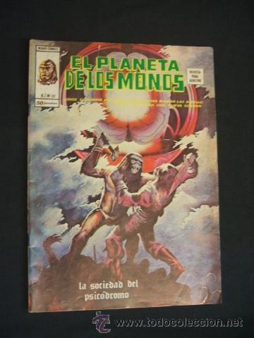 EL PLANETA DE LOS MONOS - V.2 Nº 20 - LA SOCIEDAD DEL PSICODROMO - VERTICE - (Tebeos y Comics - Vértice - Otros)