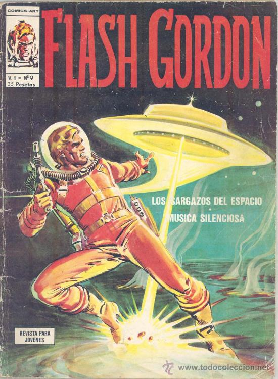FLASH GORDON V1, Nº 9 (Tebeos y Comics - Vértice - Flash Gordon)