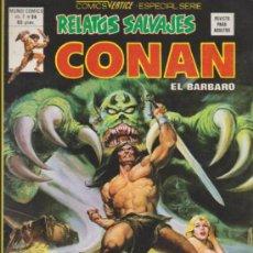 Cómics: RELATOS SALVAJES V.1 Nº 84. CONAN. VÉRTICE.. Lote 32334652