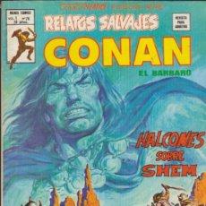 Cómics: RELATOS SALVAJES V.1 Nº 76. CONAN. VÉRTICE.. Lote 32345591