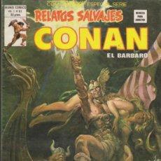 Cómics: RELATOS SALVAJES V.1 Nº 81. CONAN. VÉRTICE.. Lote 32345755