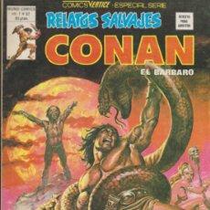 Cómics: RELATOS SALVAJES V.1 Nº 82. CONAN. VÉRTICE.. Lote 32345787