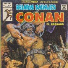 Cómics: RELATOS SALVAJES V.1 Nº 66. CONAN. VÉRTICE.. Lote 32346042