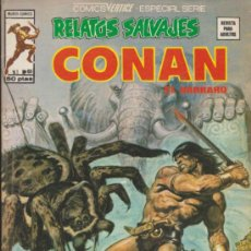 Cómics: RELATOS SALVAJES V.1 Nº 60. CONAN. VÉRTICE.. Lote 32346506
