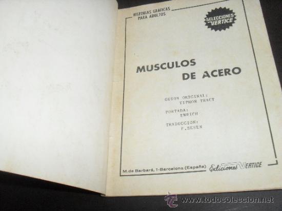 Cómics: SELECCIONES VERTICE DE AVENTURAS Nº 4. COMICS VERTICE. - Foto 2 - 32375966