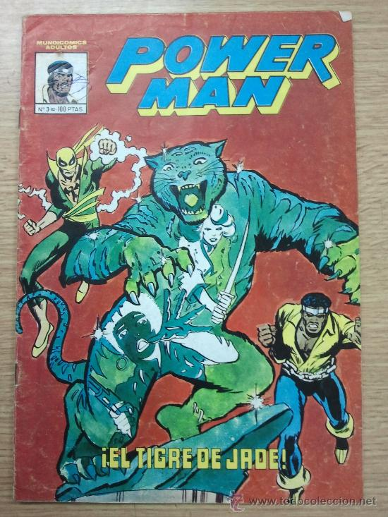 POWER MAN #3 (MUNDICOMICS) (Tebeos y Comics - Vértice - Surco / Mundi-Comic)
