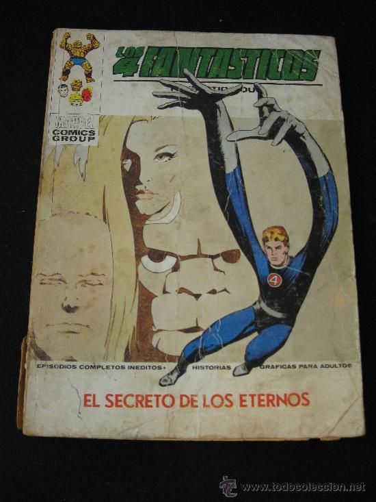 VERTICE LOS 4 FANTASTICOS - EL SECRETO DE LOS ETERNOS (Tebeos y Comics - Vértice - 4 Fantásticos)