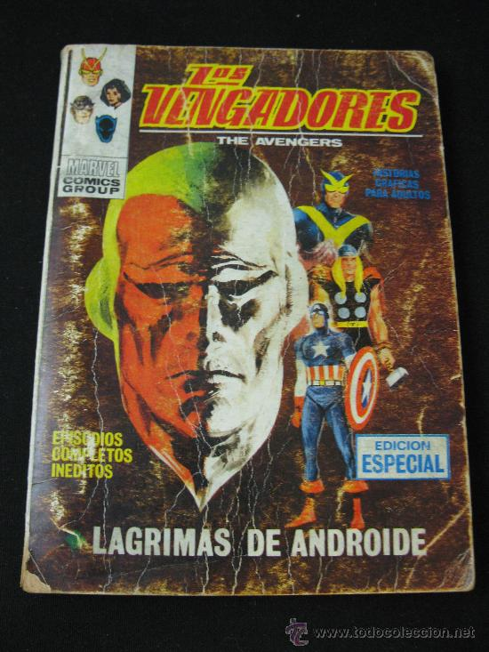 VERTICE LOS VENGADORES - LAGRIMAS DE ANDROIDE - EDICION ESPECIAL (Tebeos y Comics - Vértice - Vengadores)