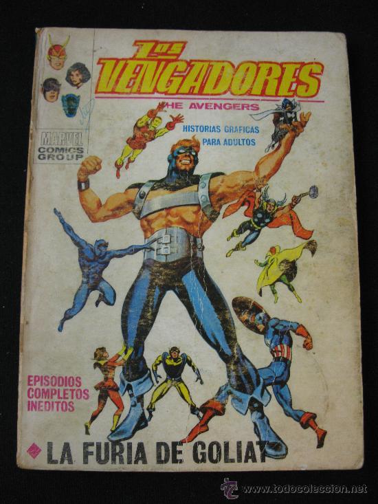 VERTICE LOS VENGADORES - LA FURIA DE GOLIAT (Tebeos y Comics - Vértice - Vengadores)