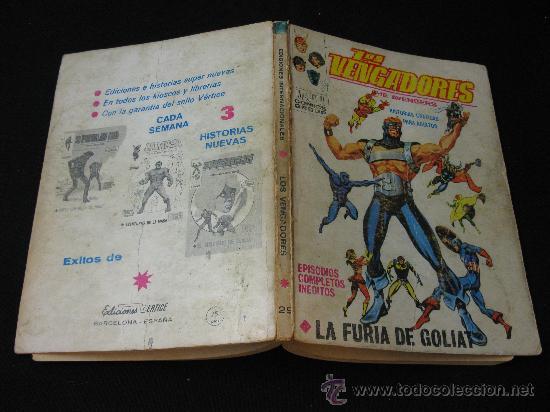 Cómics: VERTICE LOS VENGADORES - LA FURIA DE GOLIAT - Foto 3 - 32529225