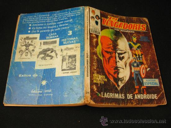 Cómics: VERTICE LOS VENGADORES - LAGRIMAS DE ANDROIDE - EDICION ESPECIAL - Foto 3 - 32529161