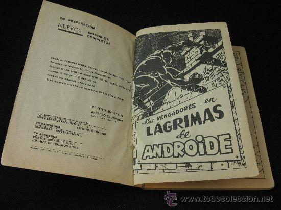 Cómics: VERTICE LOS VENGADORES - LAGRIMAS DE ANDROIDE - EDICION ESPECIAL - Foto 5 - 32529161