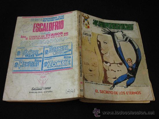 Cómics: VERTICE LOS 4 FANTASTICOS - EL SECRETO DE LOS ETERNOS - Foto 3 - 32529091