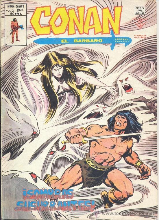 CONAN VOL. 2 Nº 36 (Tebeos y Comics - Vértice - Conan)