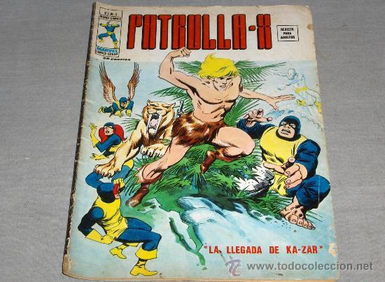 VÉRTICE VOL. 3 PATRULLA X Nº 5 CON KAZAR. 1974. 35 PTS. DIFÍCIL!!!!!!!!!! (Tebeos y Comics - Vértice - Patrulla X)