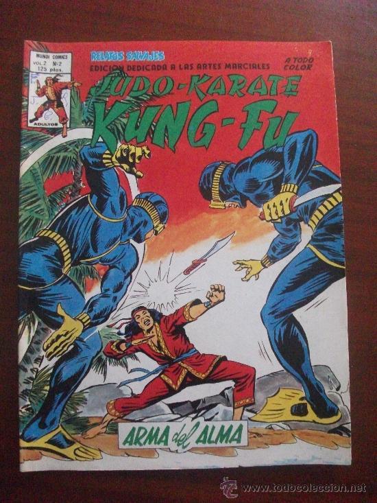 RELATOS SALVAJES ARTES MARCIALES VOL 2 Nº 2 EDICIONES VERTICE (Tebeos y Comics - Vértice - Relatos Salvajes)