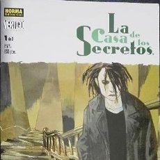 Cómics: LA CASA DE LOS SECRETOS LOTE COLECCIÓN COMPLETA DEL Nº 1 AL Nº 3 SEAGLE & KRISTIANSEN. Lote 33248567
