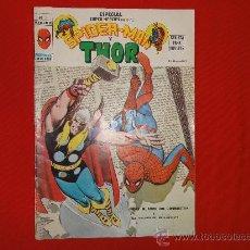 Comics : ESPECIAL SUPER HEROES PRESENTA. Nº 3. SPIDER-MAN Y THOR. EDITORIAL VÉRTICE. Lote 141260896