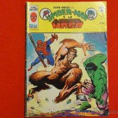 Comics : SUPER HEROES PRESENTA. VOL. 2. Nº 72. SPIDERMAN Y LA MASA. EDITORIAL VÉRTICE. Lote 33270524