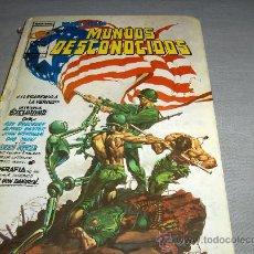 Cómics: VÉRTICE ANTOLOGÍA DEL COMIC Nº 2 MUNDOS DESCONOCIDOS RELATOS SALVAJES. 1977. 300 PTS. DIFÍCIL!!!!!!. Lote 33294011