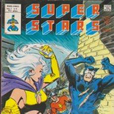 Cómics: SUPER STARS. MUNDI COMICS VÉRTICE. 8 EJEMPLARES DEL 1 AL 8.. Lote 33339299