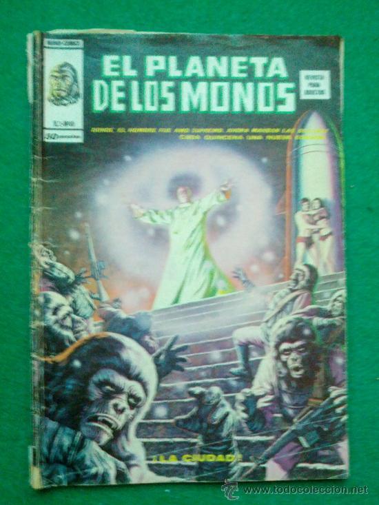 COMIC EL PLANETA DE LOS SIMIOS DE MUNDI-COMICS Nº 10 (Tebeos y Comics - Vértice - Surco / Mundi-Comic)
