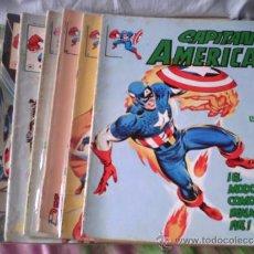 Cómics: CAPITAN AMERICA SURCO-CASI COMPLETA. Lote 33374662