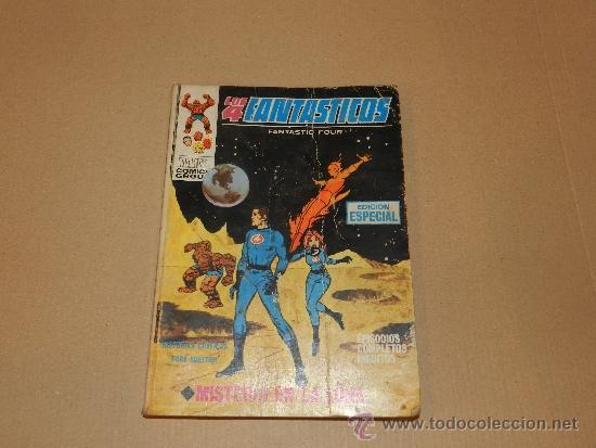 (M-1) LOS 4 FANTASTICOS NUM 7 , EDC VERTICE, SEÑALES DE USO (Tebeos y Comics - Vértice - 4 Fantásticos)