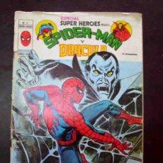 Comics: ESPECIAL SUPER HEROES PRESENTA: NUMERO 12. SPIDER-MAN Y DRACULA. (C/A4). Lote 33405207