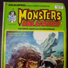 Cómics: ESCALOFRIO PRESENTA: Nº 19. MONSTERS UNLEASHED. (C/A4). Lote 33405307