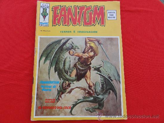 FANTOM VOL.2 Nº 8. FRANKENSTEIN (Tebeos y Comics - Vértice - Terror)