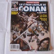 Cómics: LA ESPADA SALVAJE DE CONAN Nº 10. SEGUNDA EDICIÓN. FORUM. Lote 33435774