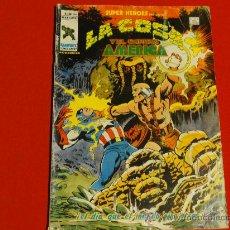 Cómics: SUPER HEROES PRESENTA Nº 104. LA COSA Y EL CAPITÁN AMÉRICA. VERTICE. Lote 33464886