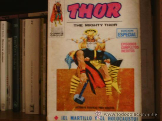 THOR-NUMERO DOS (Tebeos y Comics - Vértice - Thor)