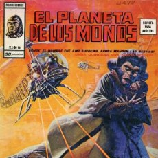 Cómics: EL PLANETA DE LOS MONOS Nº16 (V.2) EDITORIAL VÉRTICE, 1977. Lote 33488042