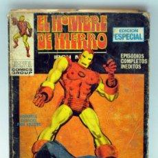 Cómics: EL HOMBRE DE HIERRO IRON MAN EDICIÓN ESPECIAL MARVEL COMICS EL PRINCIPIO DEL FIN ED VÉRTICE 1970. Lote 33512374