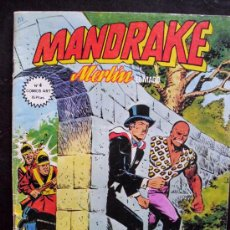 Cómics: MANDRAKE. MUNDICOMIC. LOTE DE 8 NUMEROS: 4, 5, 6, 7, 8, 9, 10 Y 13. (Y SUELTOS) (C/A34). Lote 33573250