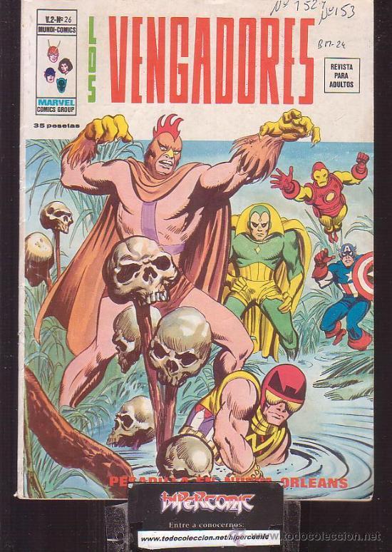 LOS VENGADORES VOL. 2 Nº 26 ( VERTICE ) (Tebeos y Comics - Vértice - V.2)